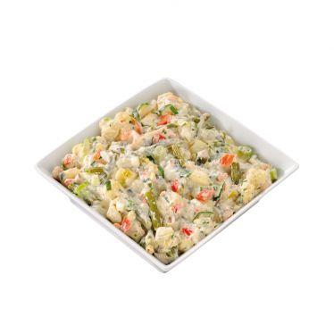 Barbecue salade van het huis