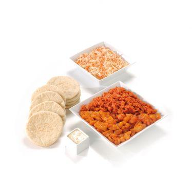Pita Paket mit Gemüse (Schwein)