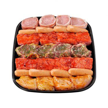 Combi grill gourmet mariné