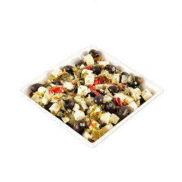 Salade feta olijven