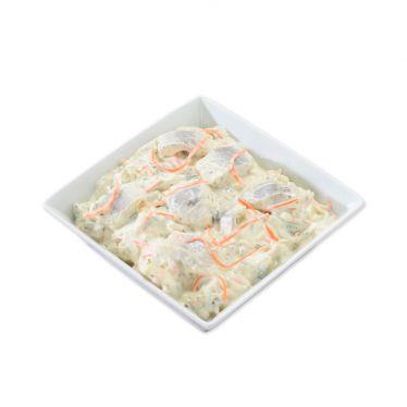 Salade hareng tartare