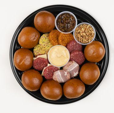Mini-burgers party box