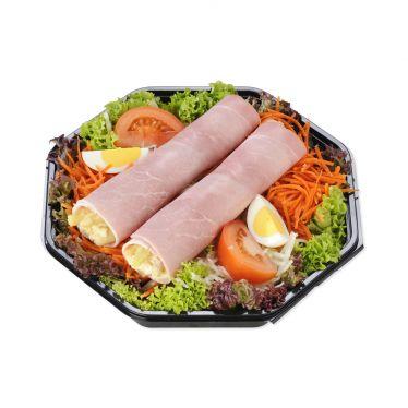 Rauwkostsalade asperge/ham