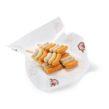 Brochettes de mini boudins