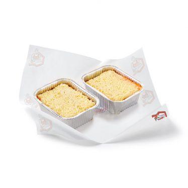 Lasagne (+/- 400 g.)