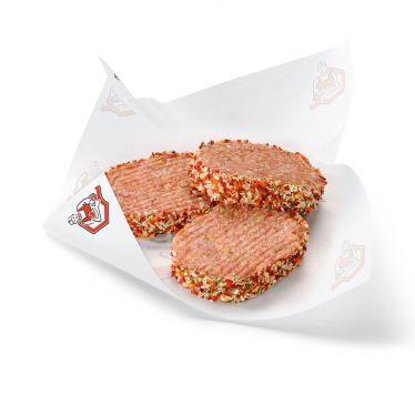Krispy burger (varken/rund)