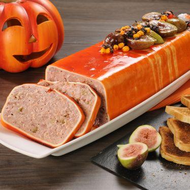 Halloween-Pastete