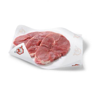 Tranche de gigot d'agneau sans os